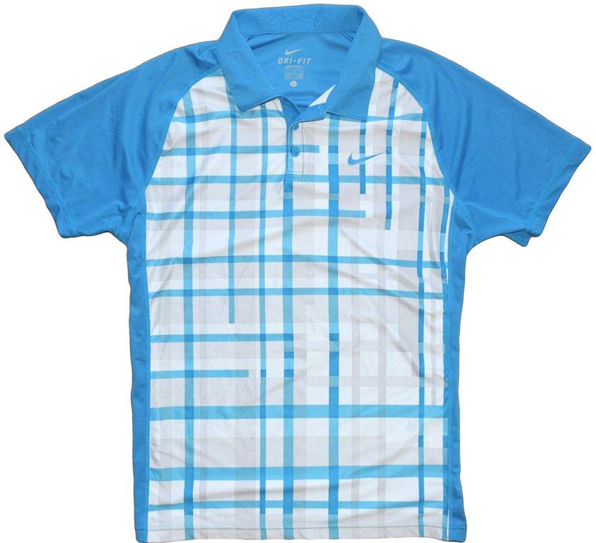 Nike TENIS L/XL koszulka polo do tenisa tenisowa