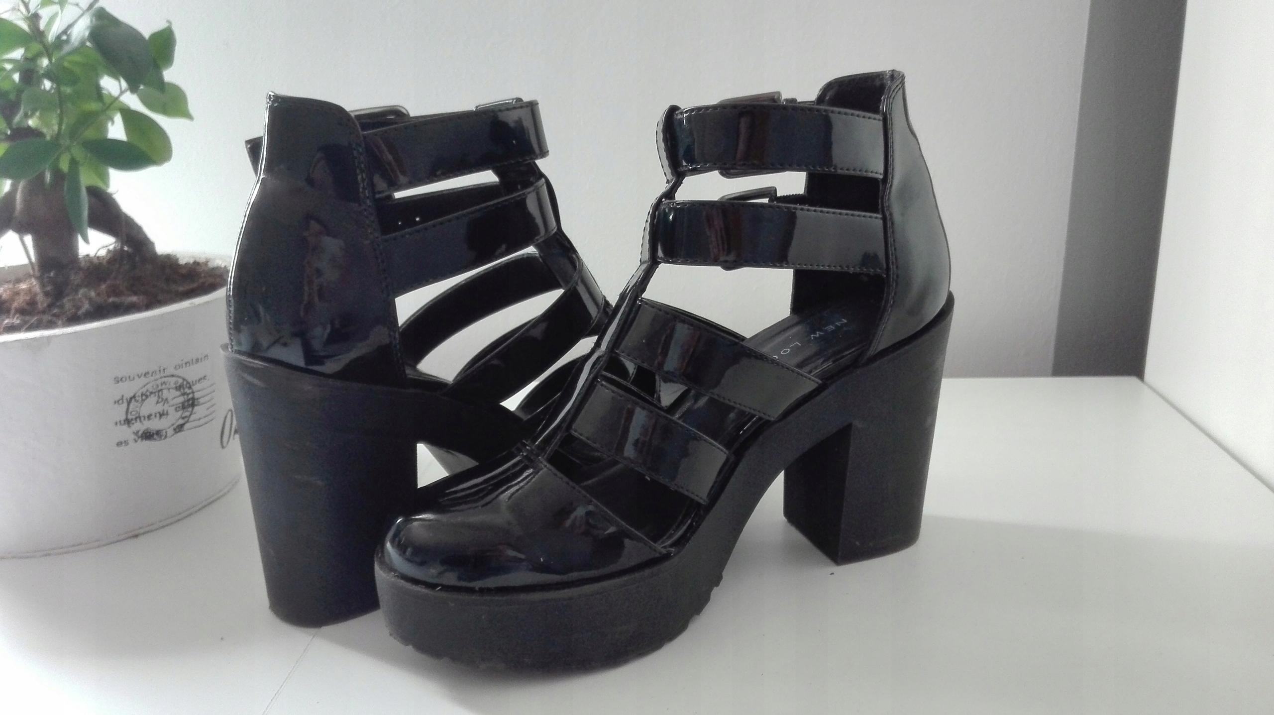 df2128d4ec5ee Buty platformy klamry paski gotyckie gothic - 7495764802 - oficjalne ...