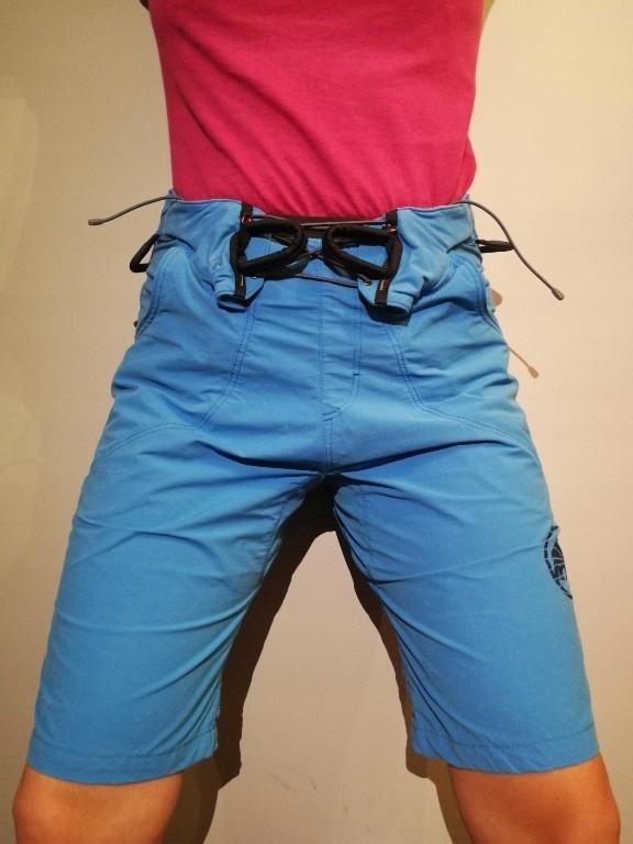 spodnie do wspinaczki z uprzężą