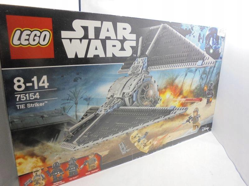 JAK NOWE LEGO STARS WARS 75154 TIE STRIKER