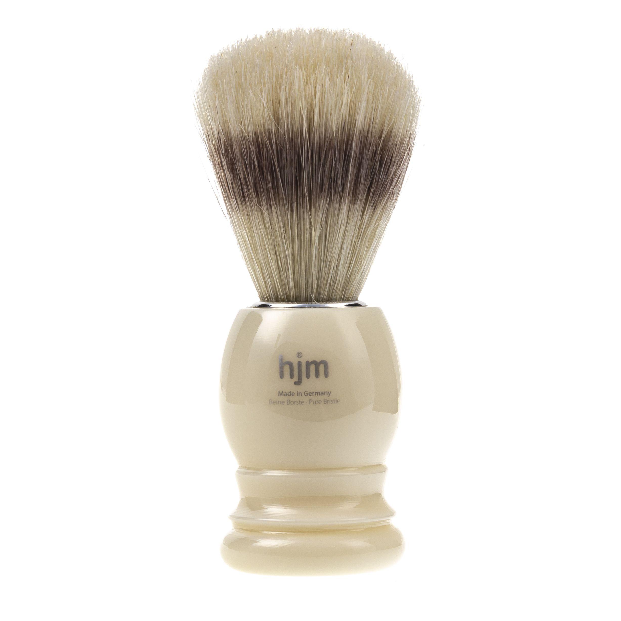 Pędzel do golenia SZCZECINA DZIKA - biały Muhle