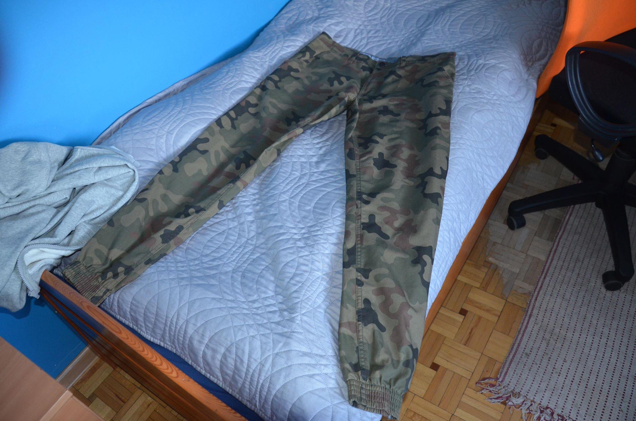 b7711a2192ecaf Spodnie Joggery SSG SMOKE STORY moro slim XL - 7278432932 ...