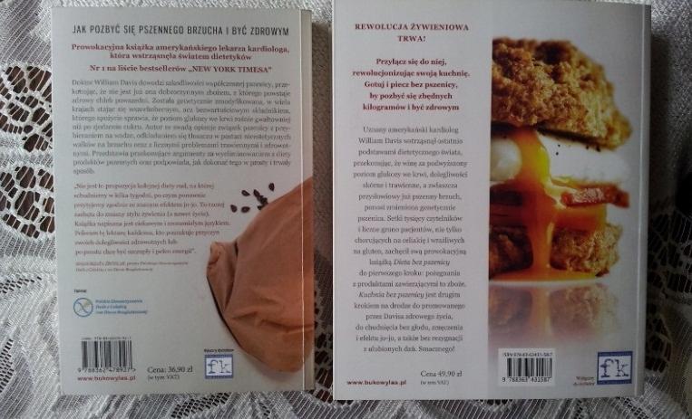 Dieta Bez Pszenicy Kuchnia Bez Pszenicy Davis 7450077753