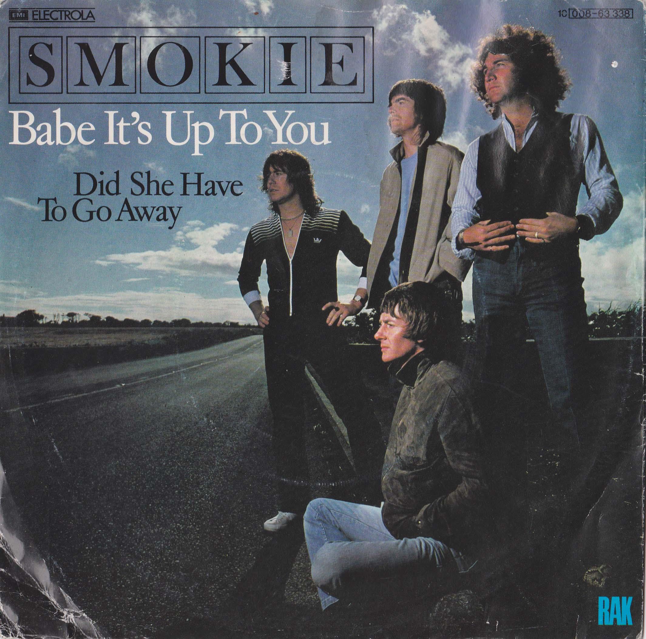 "SMOKIE - Babe It's Up To You  7"" (EX)"