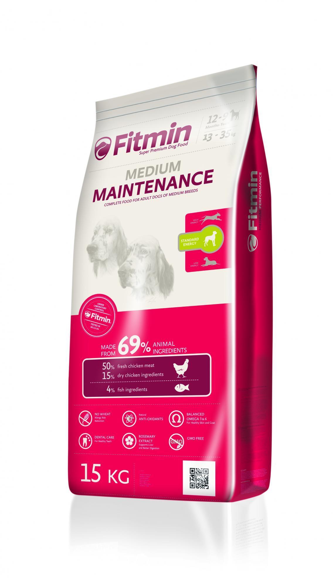 Karma Fitmin dog medium maintenance - 15 kg