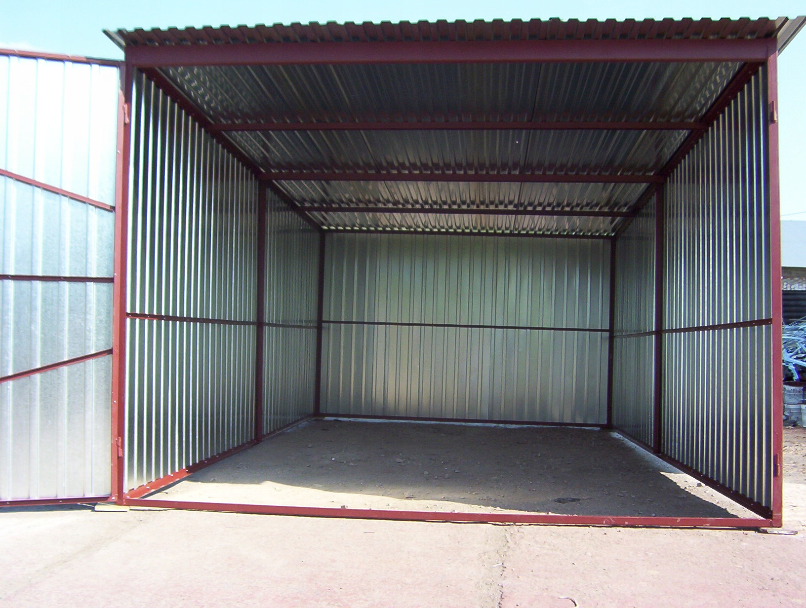 Garaż Blaszany Blaszak Wymiary 3x5 4x6 5x5 2x3 Gw 7170010029