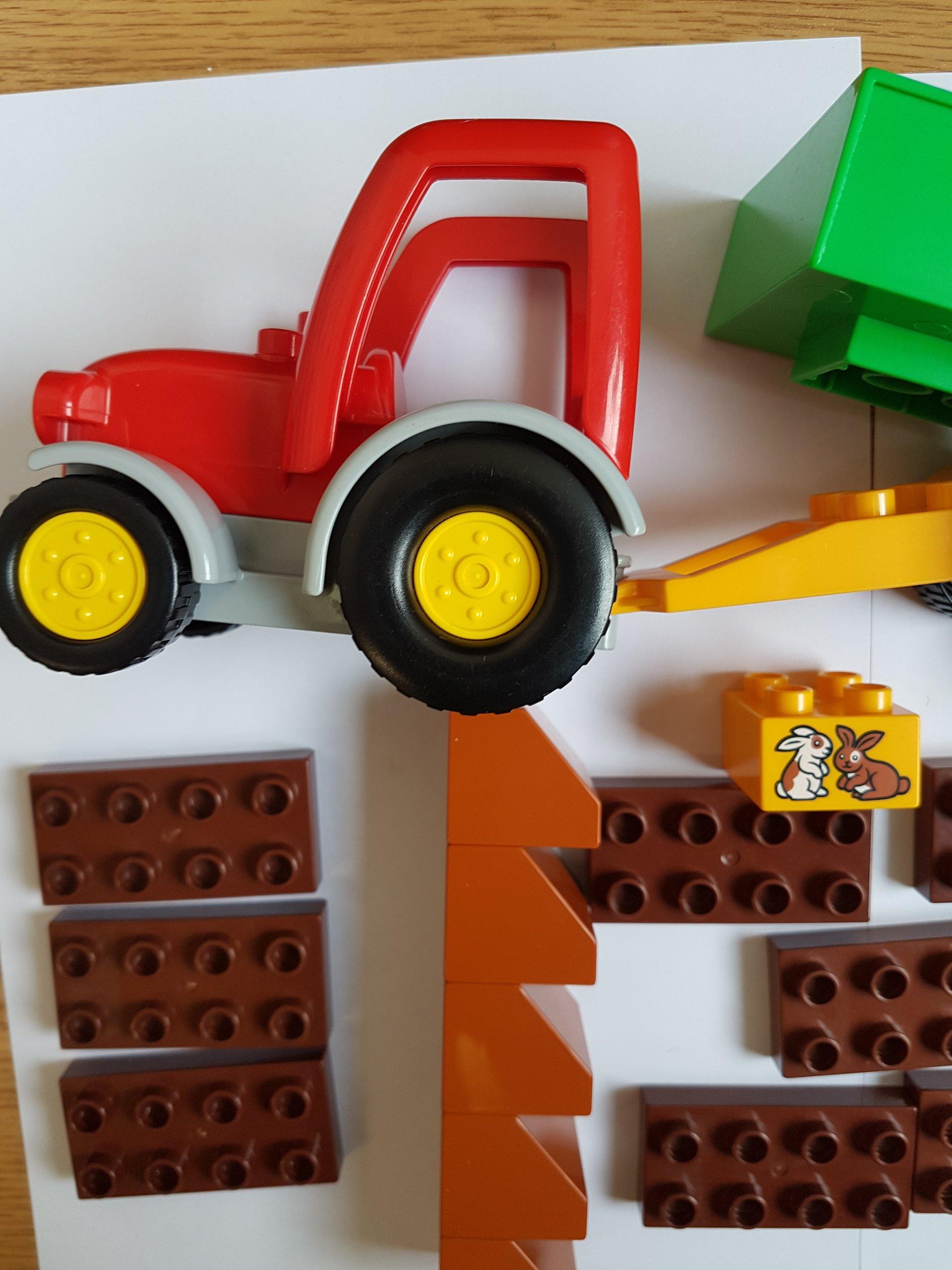 Lego Duplo Farma Traktor Klocki Miks 7269960069 Oficjalne