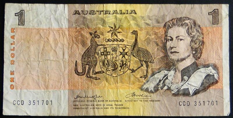 1976 Australia Elżbieta II - 1 dolar