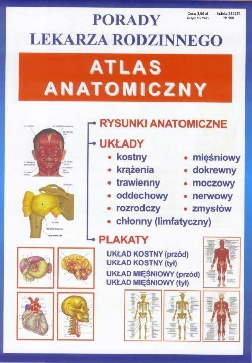 Porady Lek Rodzinnego Atlas Anatomiczny Nr 109