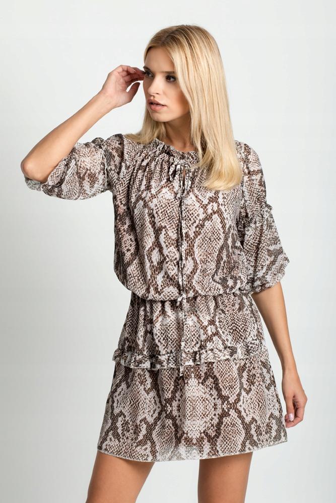 9f859177f4 Sukienka PANTERKA CĘTKI zwierzęcy deseń F21 WZORY - 7587881249 ...