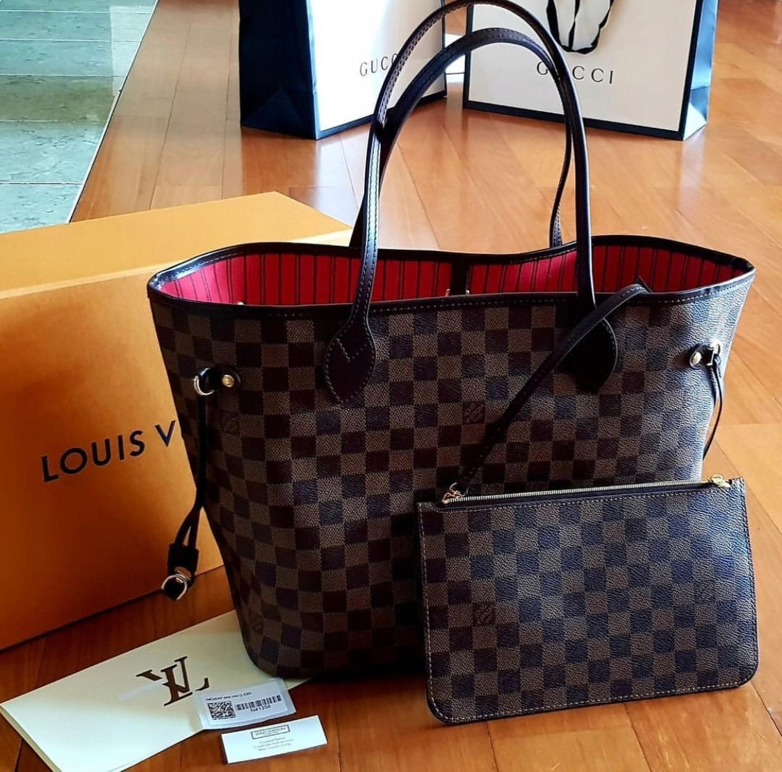 545bb7556cb68 Louis Vuitton Neverfull MM D.Ebene rachunek - 7677975327 - oficjalne ...
