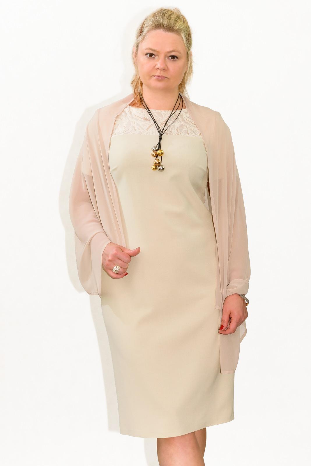 2f280621e5 Sukienka plus size r. 52 KOMUNIA