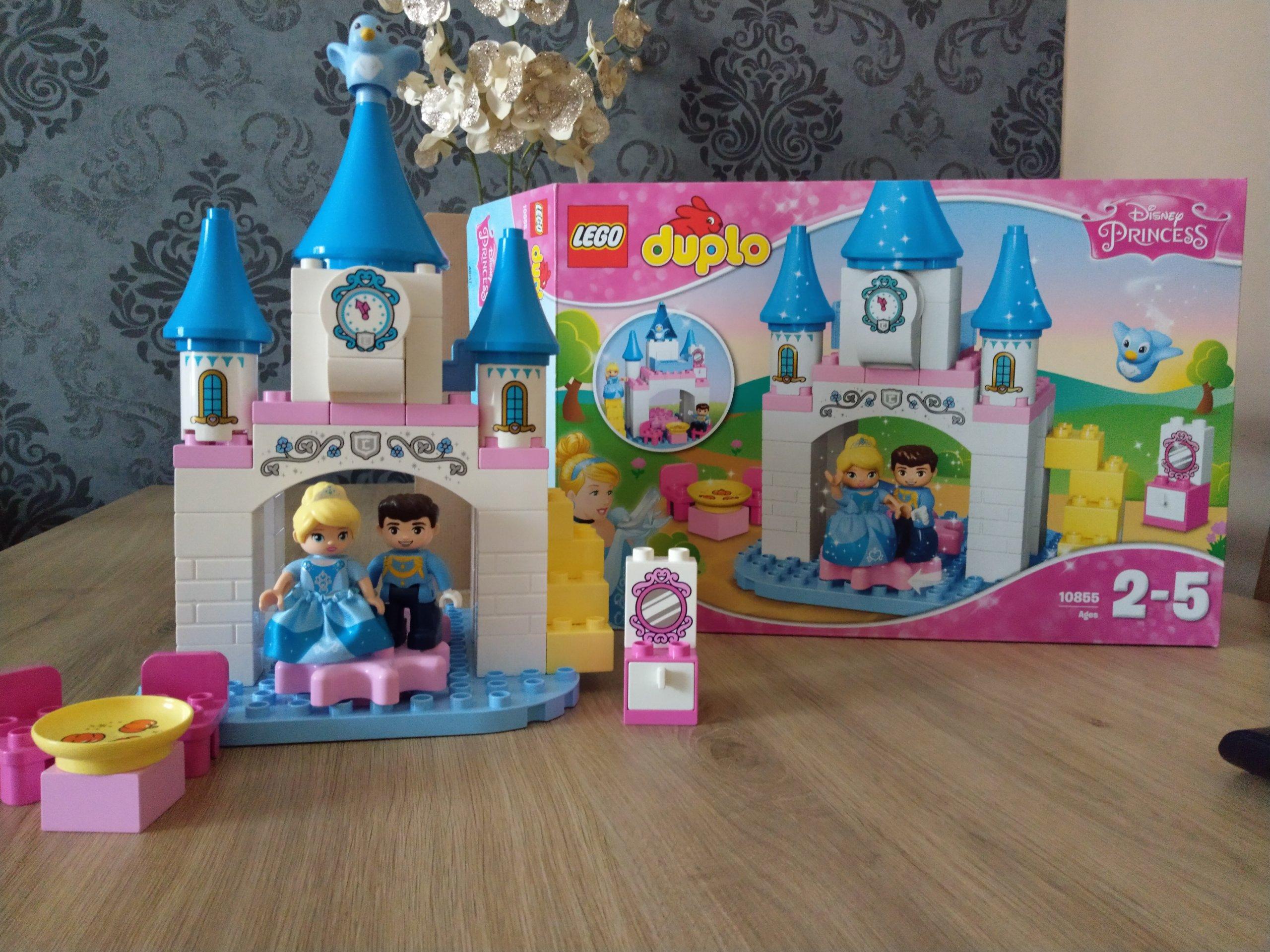 Klocki Lego Duplo Magiczny Zamek Kopciuszka 10855 7285828435