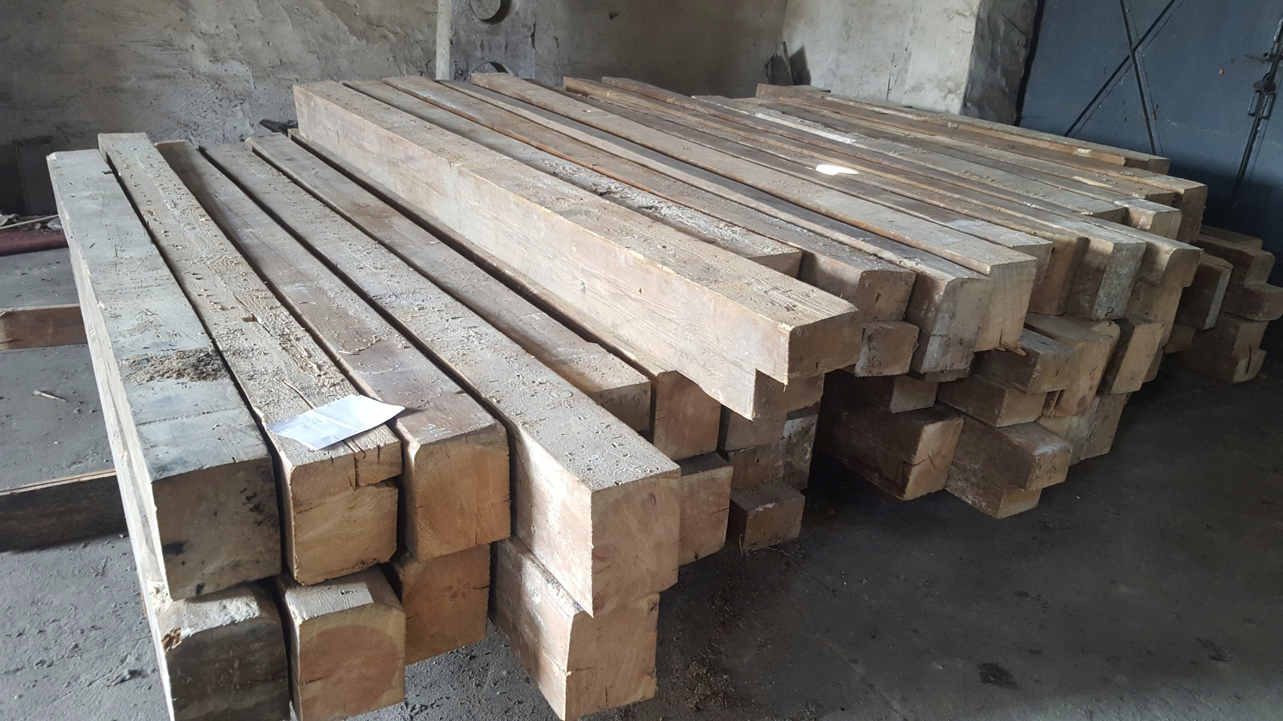 W superbly Stare Drewno Belki Drewniane Rozbiórka 790 zł/m3 - 7497290126 XG44