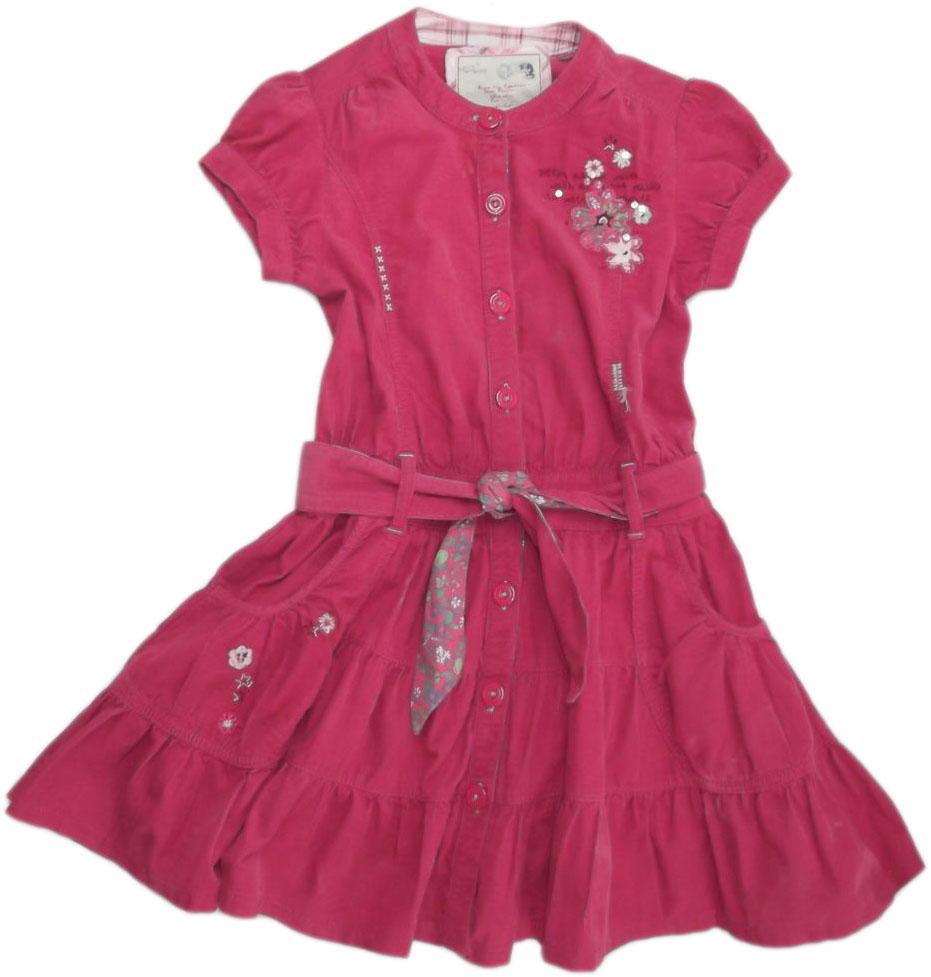 Sztruksowa sukienka NEXT ( rozm.128)