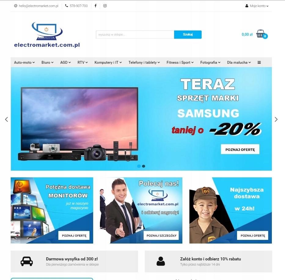 be57b469d8ab97 PROFESJONALNY SKLEP INTERNETOWY RTV AGD - 7606718225 - oficjalne ...