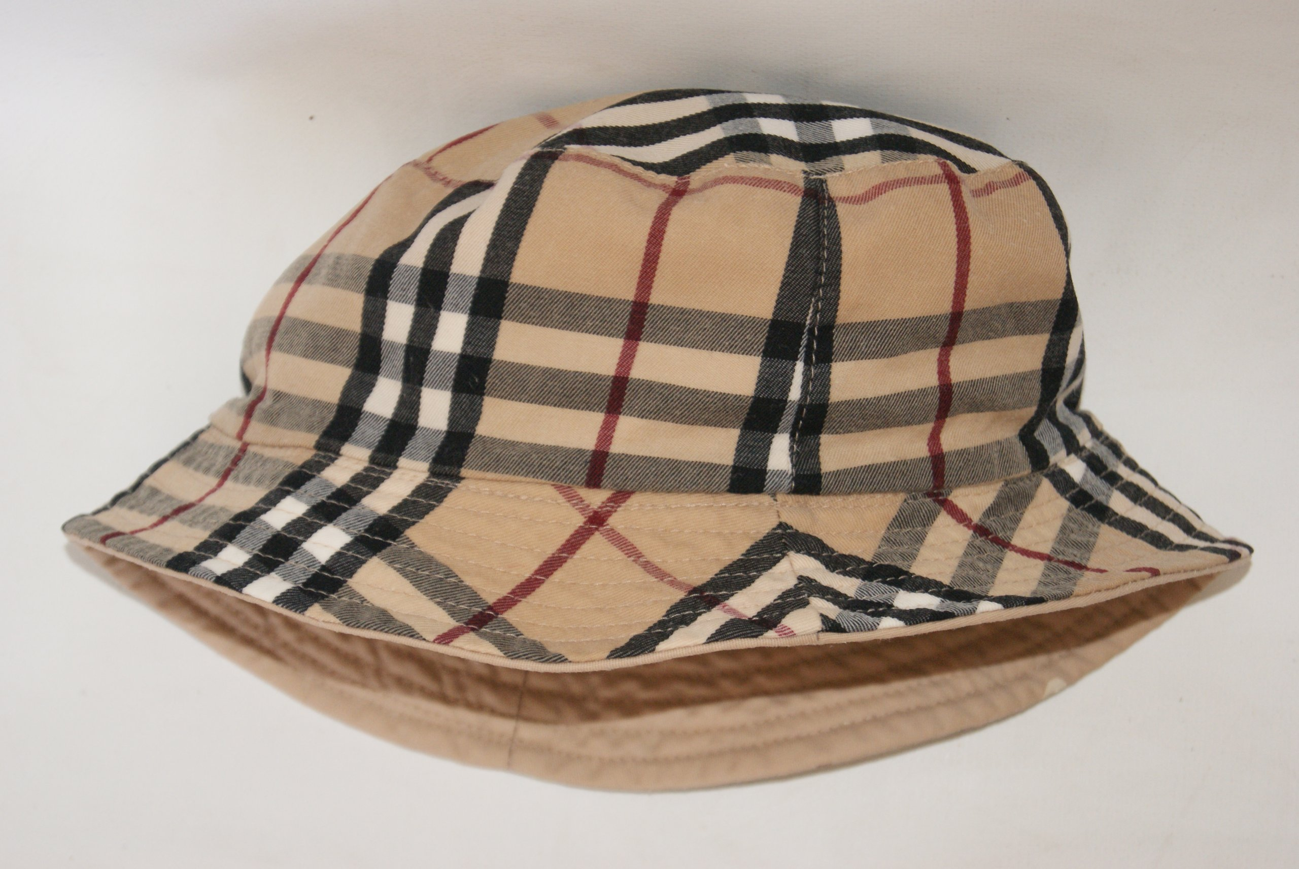 BURBERRY dwustronny kapelusz
