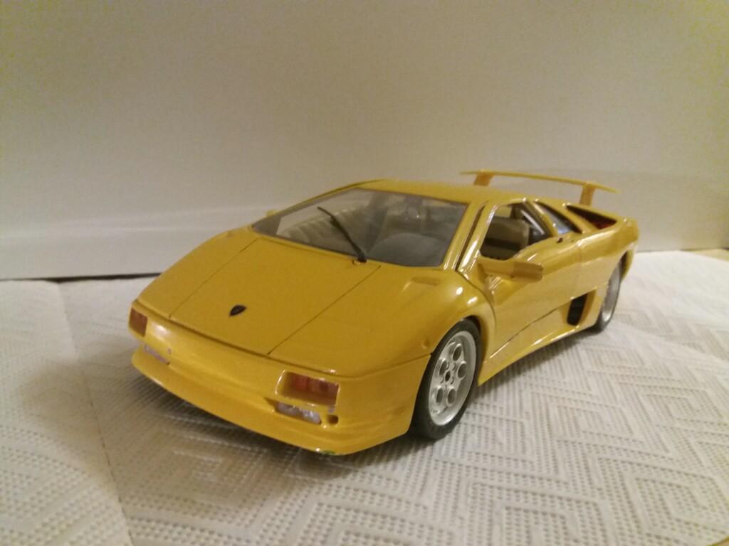 Bburago Lamborghini Diablo 1990 Idealny