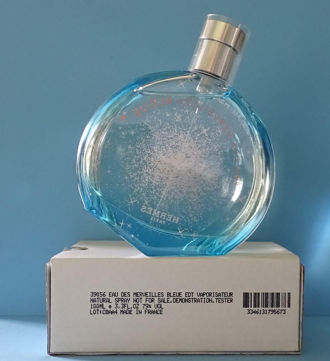 Hermes Eau Des Merveilles Bleue 100ml Oryginalne 7147771939 Woman Edt 100 Ml