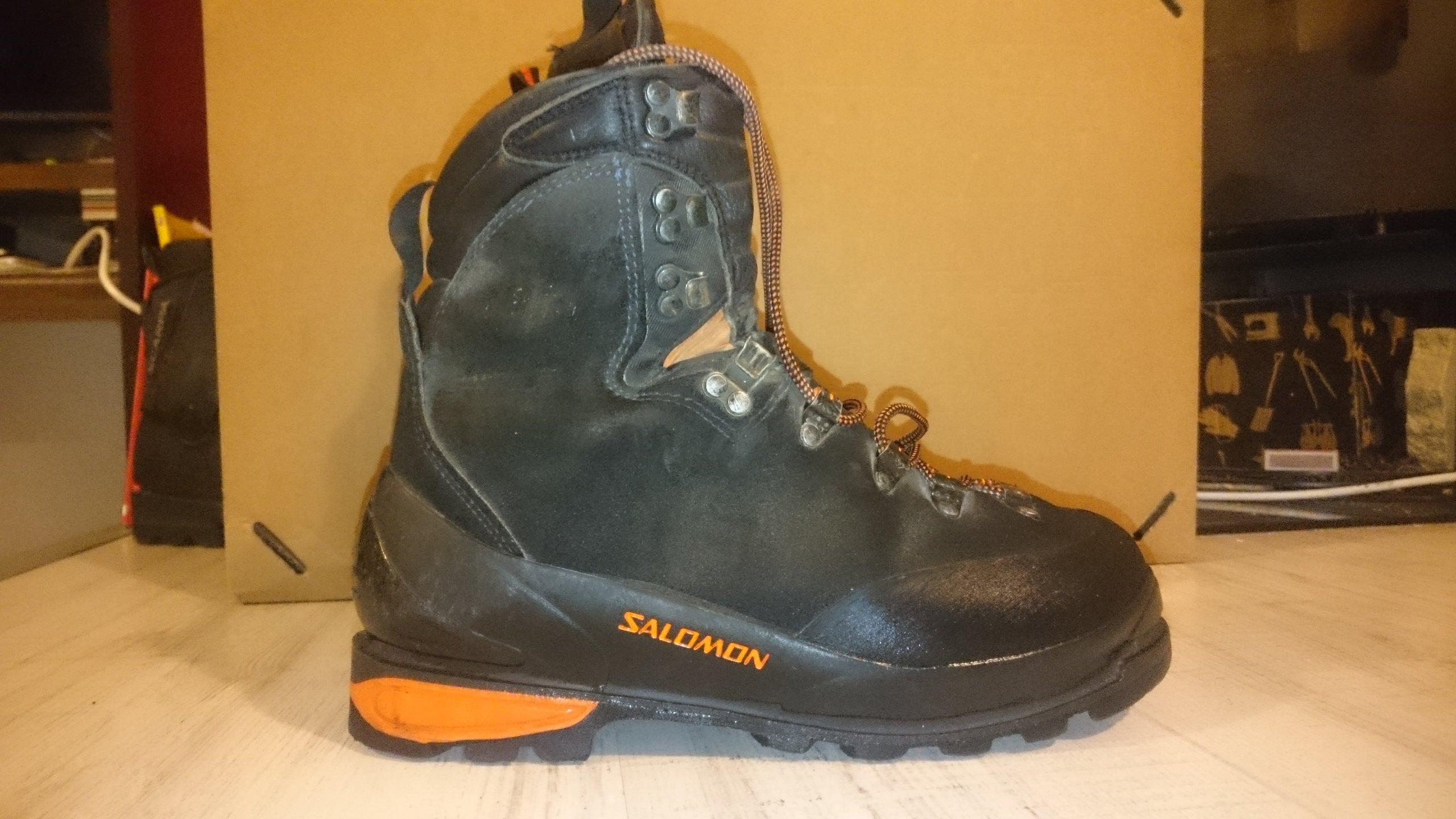 SALOMON buty wysokogórskie,górskie, rozmiar 42 7095659308