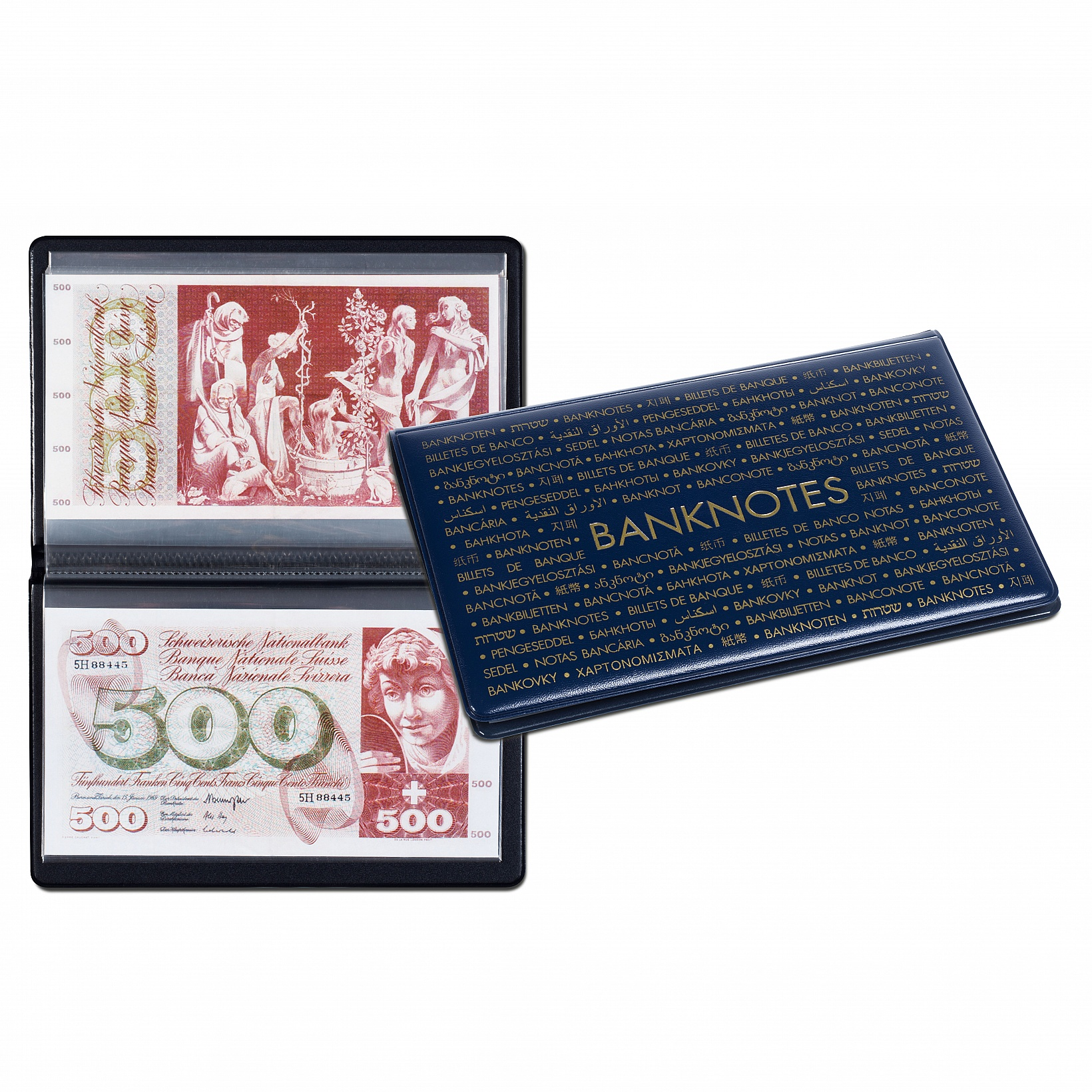 Album -Portfel na banknoty - Numis Max -Leuchtturm