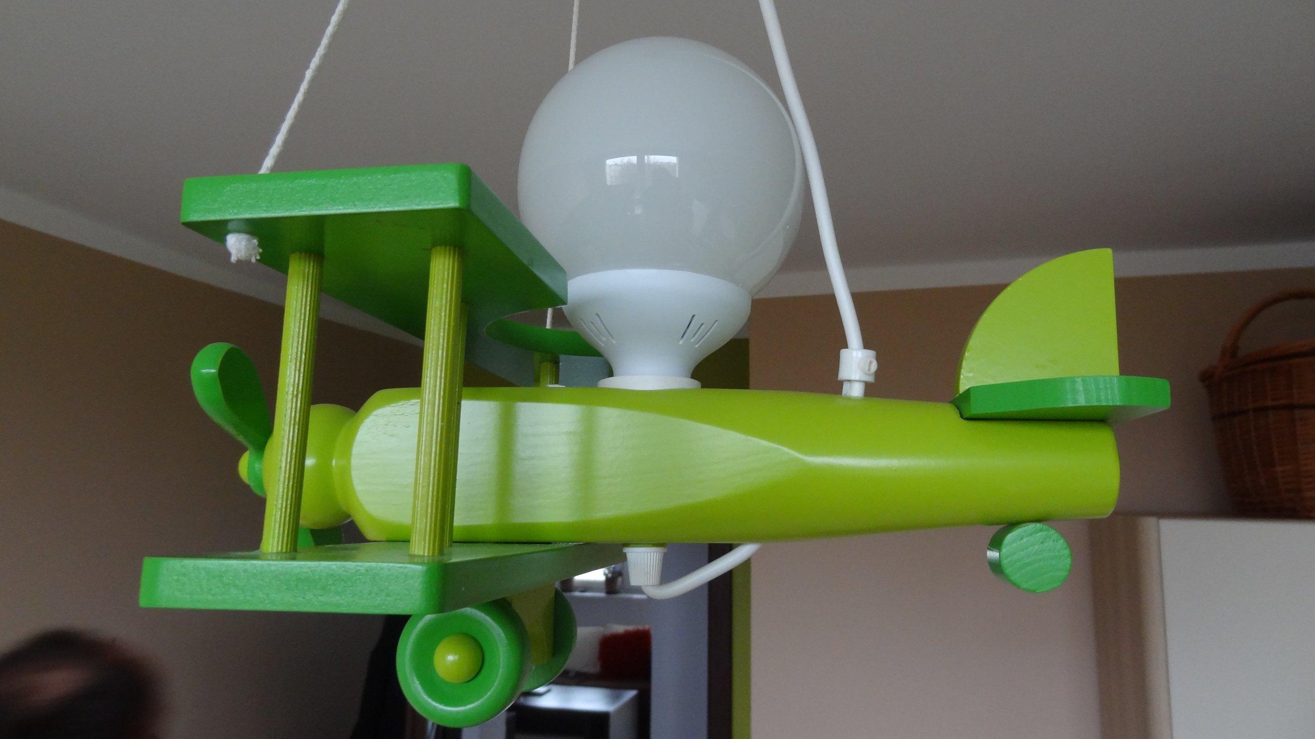 żyrandol Samolot Oświetlenie Do Pokoju Dla Chłopca
