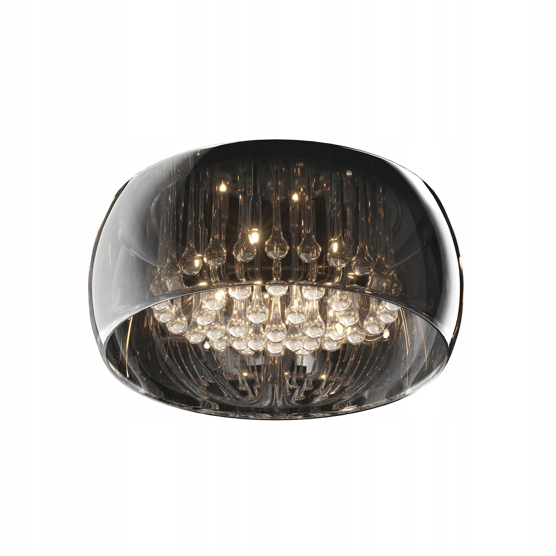 Zuma Line Lampa Sufitowa Crystal Agata Meble 7585465712