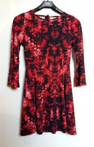 9ac62ea45d H M Wzorzysta sukienka rozm.XS - 6822436752 - oficjalne archiwum allegro