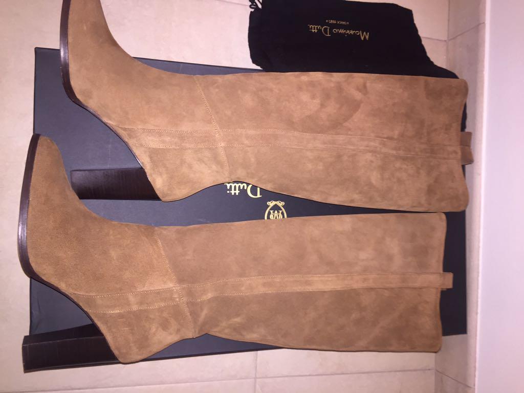 485e140c98273 Piękne karmelowe kozaki damskie Massimo Dutti 42 - 7125338032 ...
