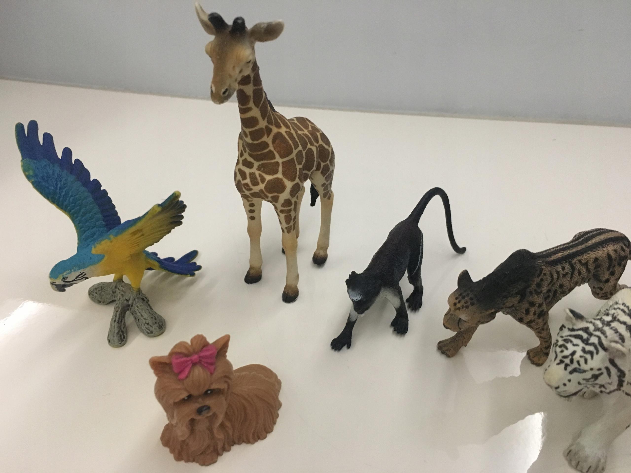 c36d2bc5ff6bb figurki zwierząt schleich rossmann zestaw papuga - 7654165307 ...