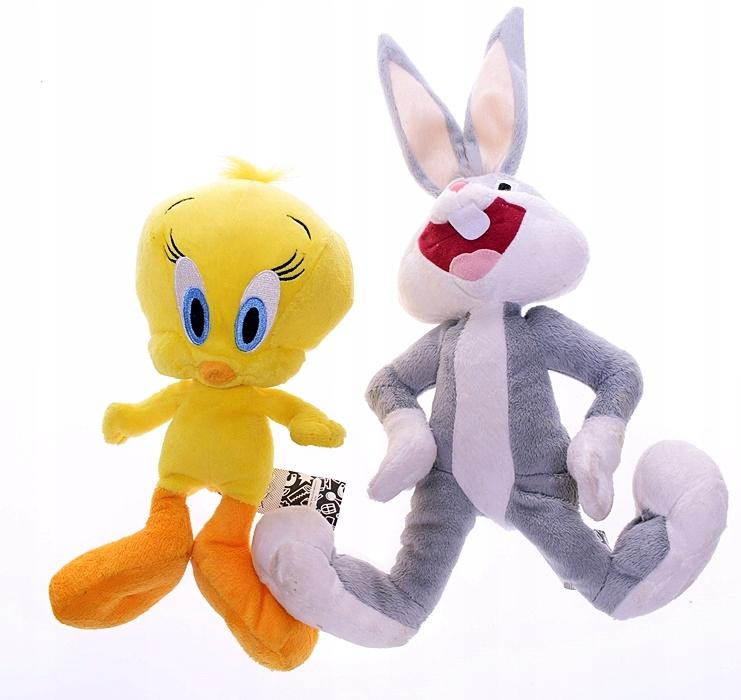 4253 25 Looney Tunes Krolik Bugs Tweety Maskotki 7481258657