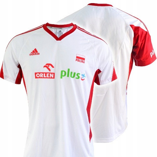 Koszulka męska adidas kadra O04644-BIALA