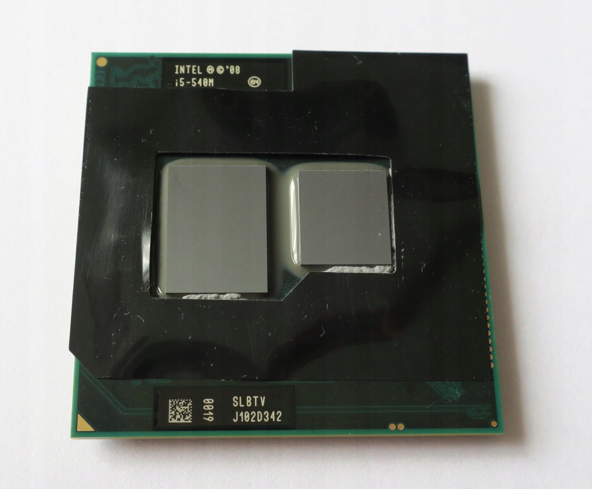 Procesor Intel Core i5 540M 2x2.53 GHz SLBTV