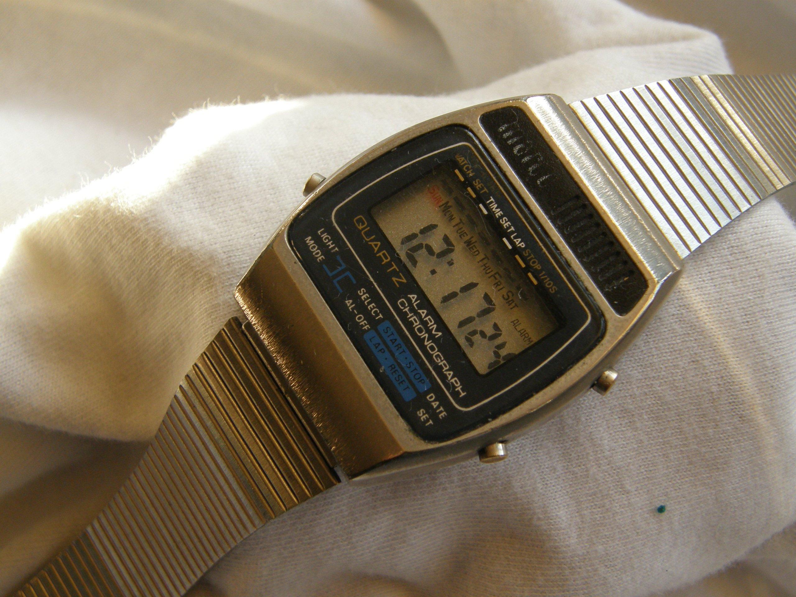 Marco Kultowy Elektroniczny Zegarek Lat 80 Tych 7285977449
