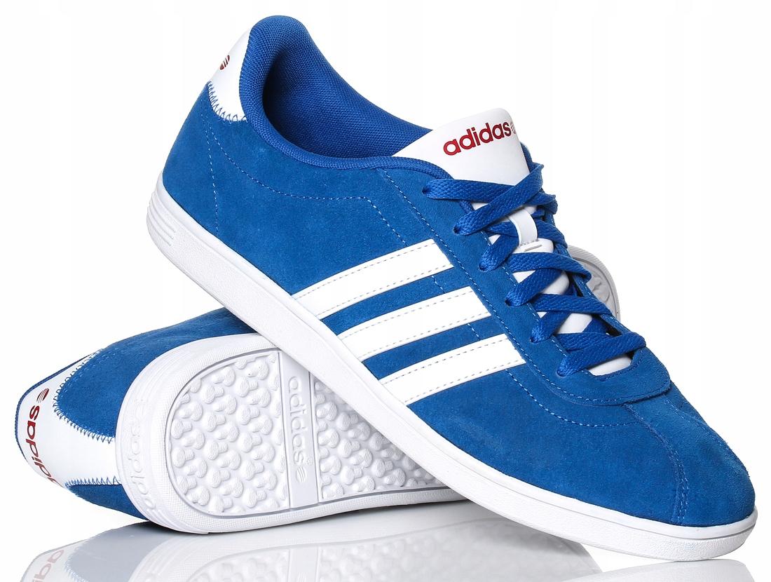 quality design 53601 1ef59 Buty męskie Adidas Vlneo Court F38481 r.40 D
