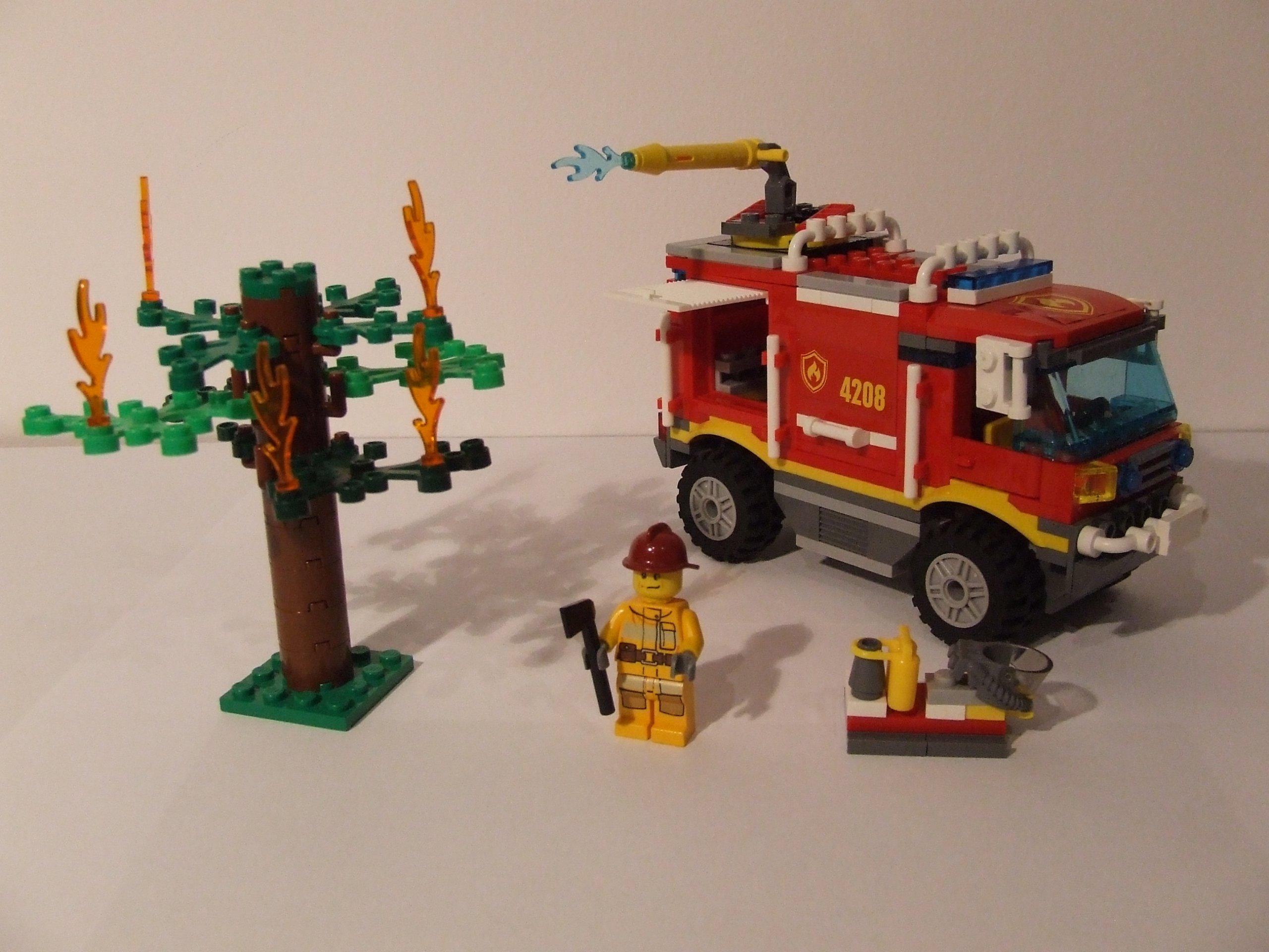 Klocki Lego City 4208 Straż Pożarna 7088478031 Oficjalne