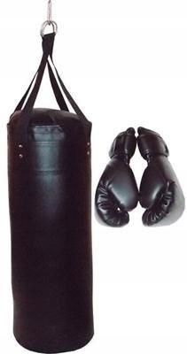 Zestaw bokserski treningowy worek i rękawice