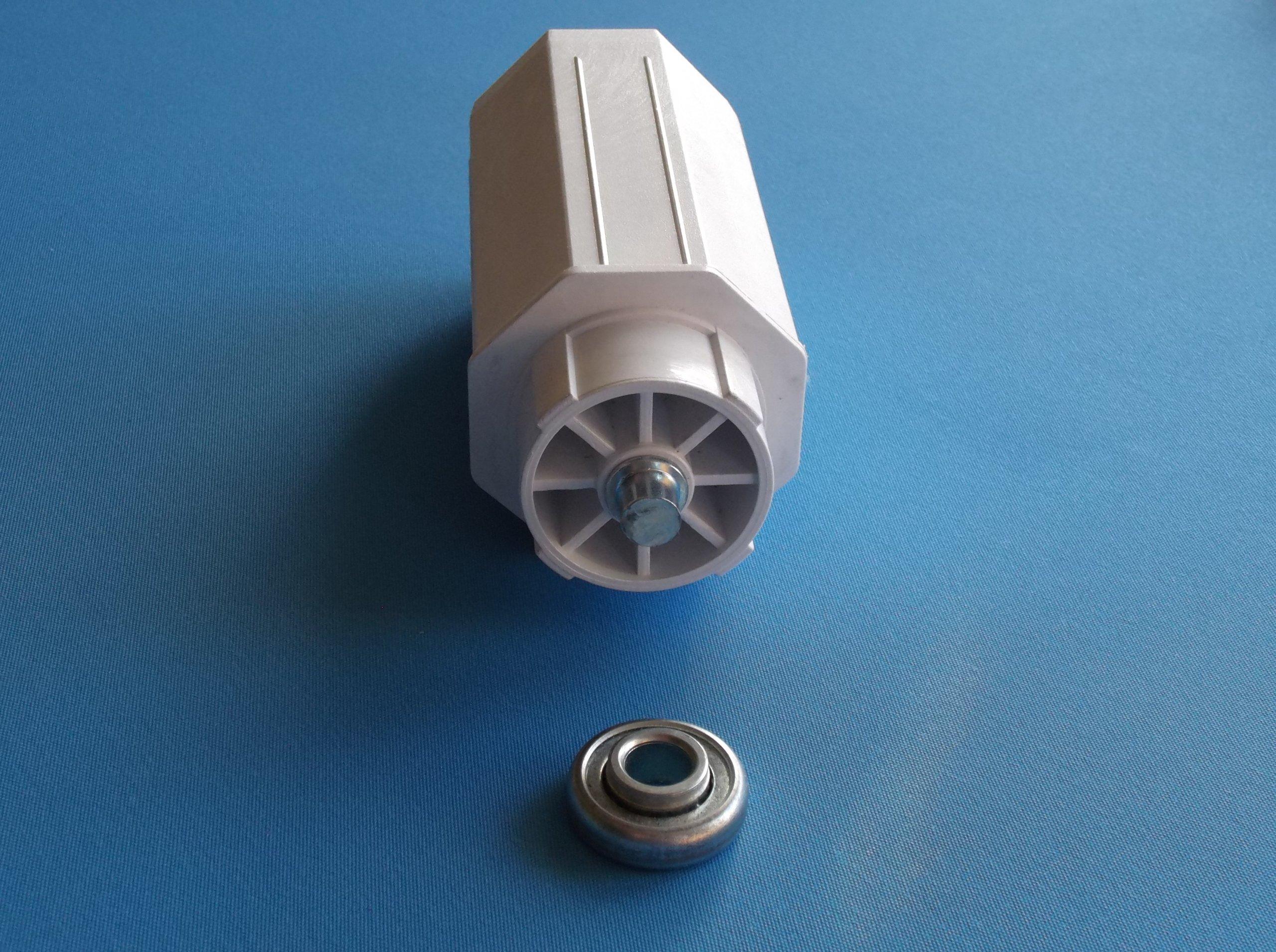 Masywnie Trzpień do rolet zewnętrznych fi 60mm + łożysko - 7129125172 RF95