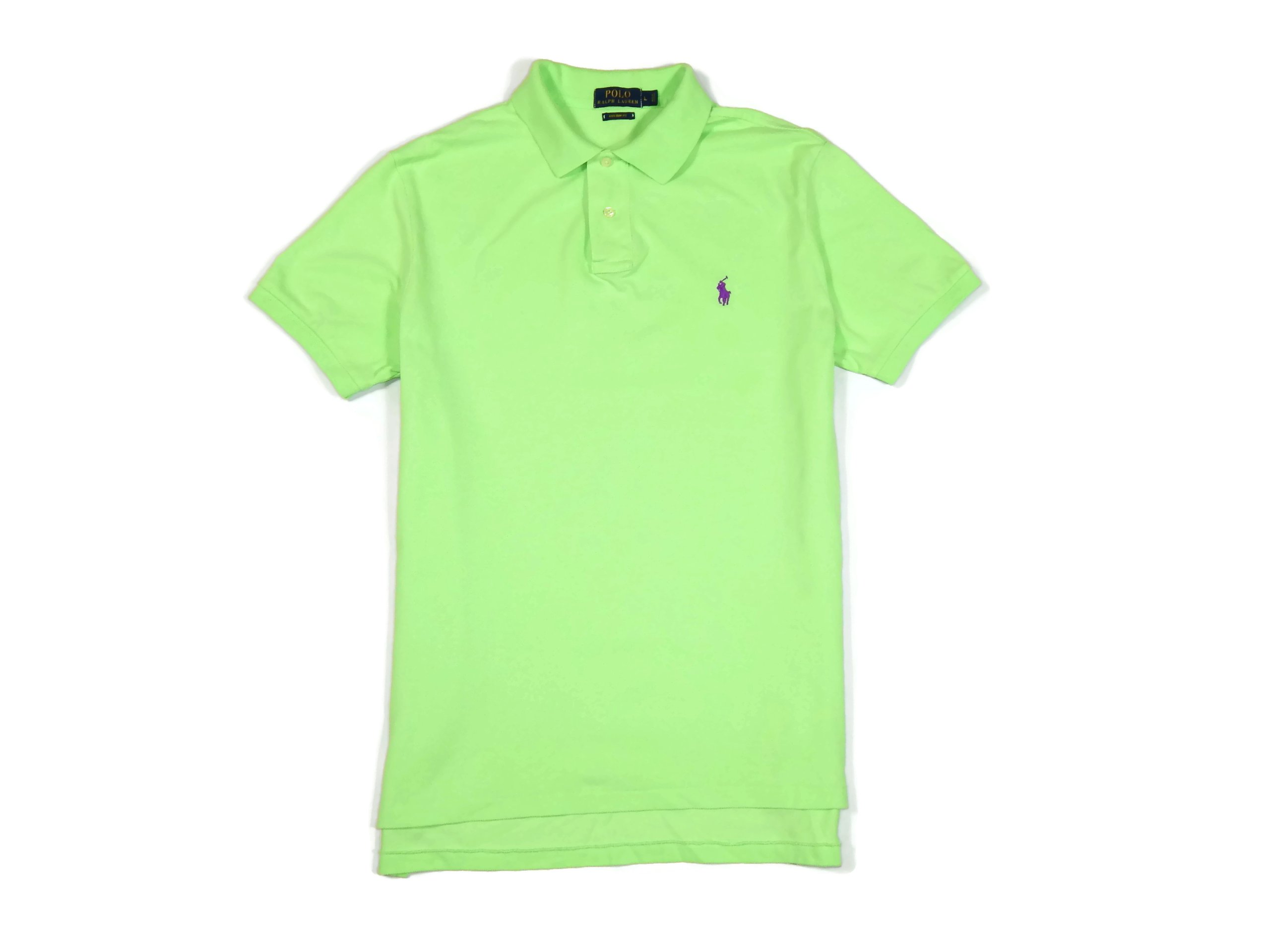 f18ba9f7e1f65f POLO RALPH LAUREN T-SHIRT FIT męskie zielone L 6/6 - 7331926558 ...
