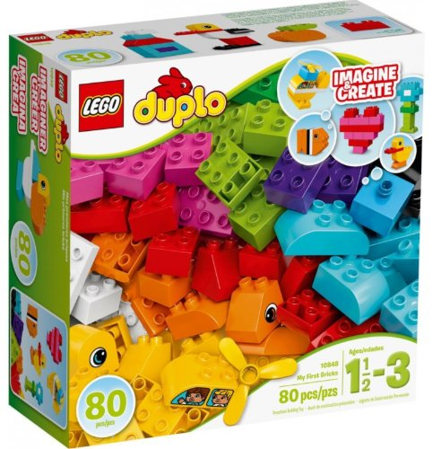LEGO DUPLO Moje Pierwsze Klocki 80 Klocków 10848