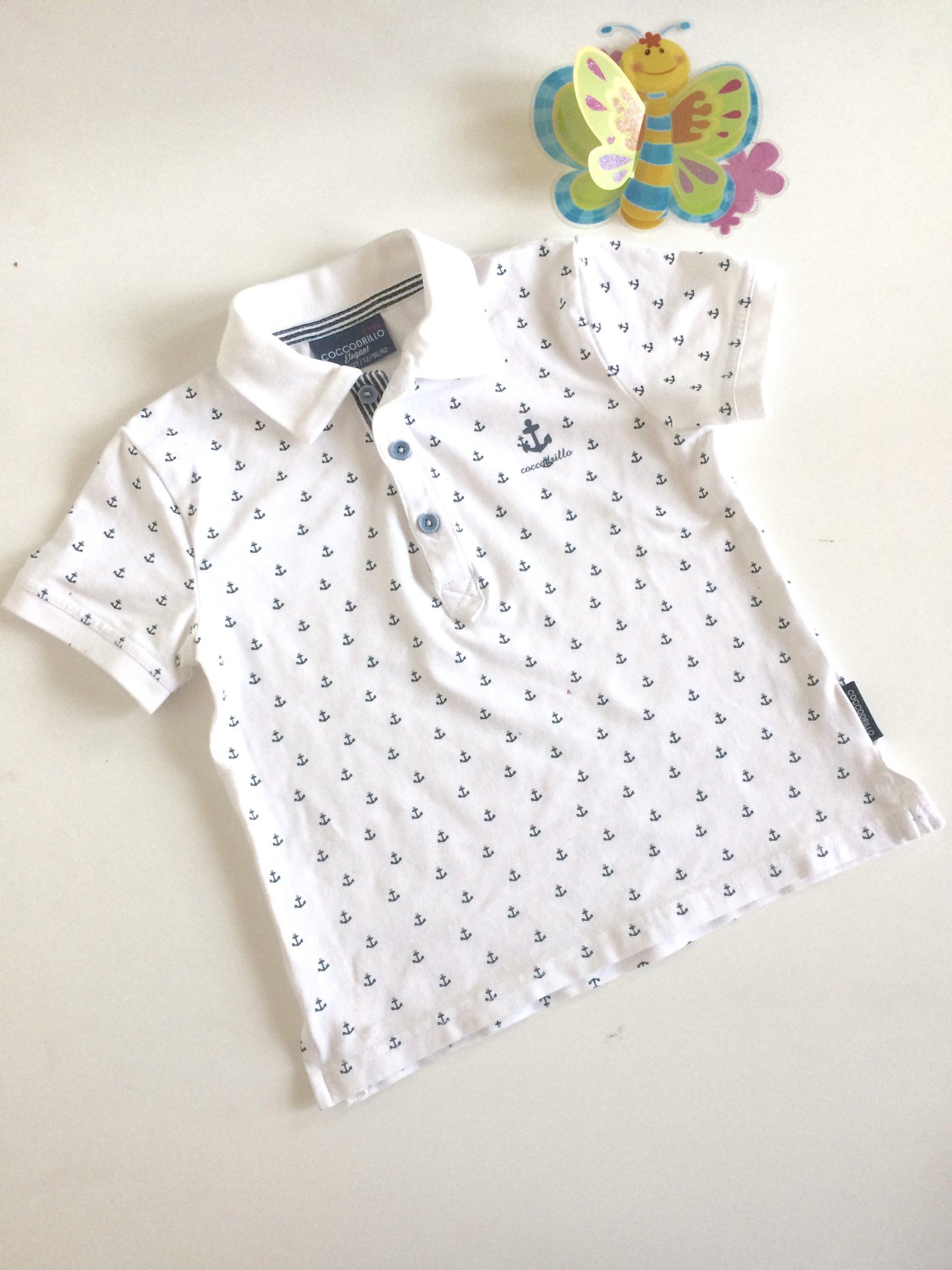 ebec201d521c1 COCCODRILLO* Koszulka polo T-shirt *2 lata*92-98 - 7330973516 ...