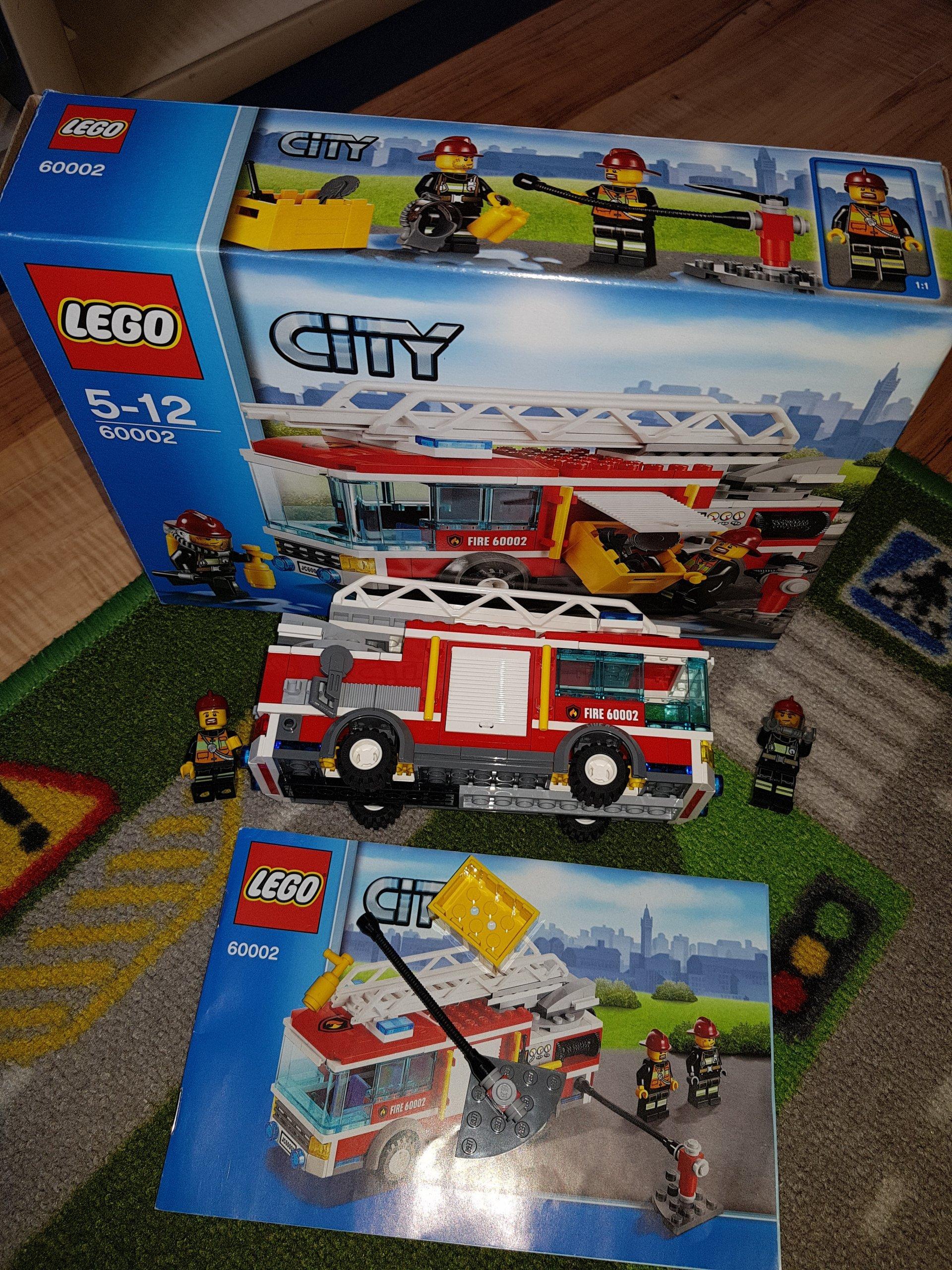 Lego City Straż Pożarna 60002 7266123819 Oficjalne Archiwum Allegro