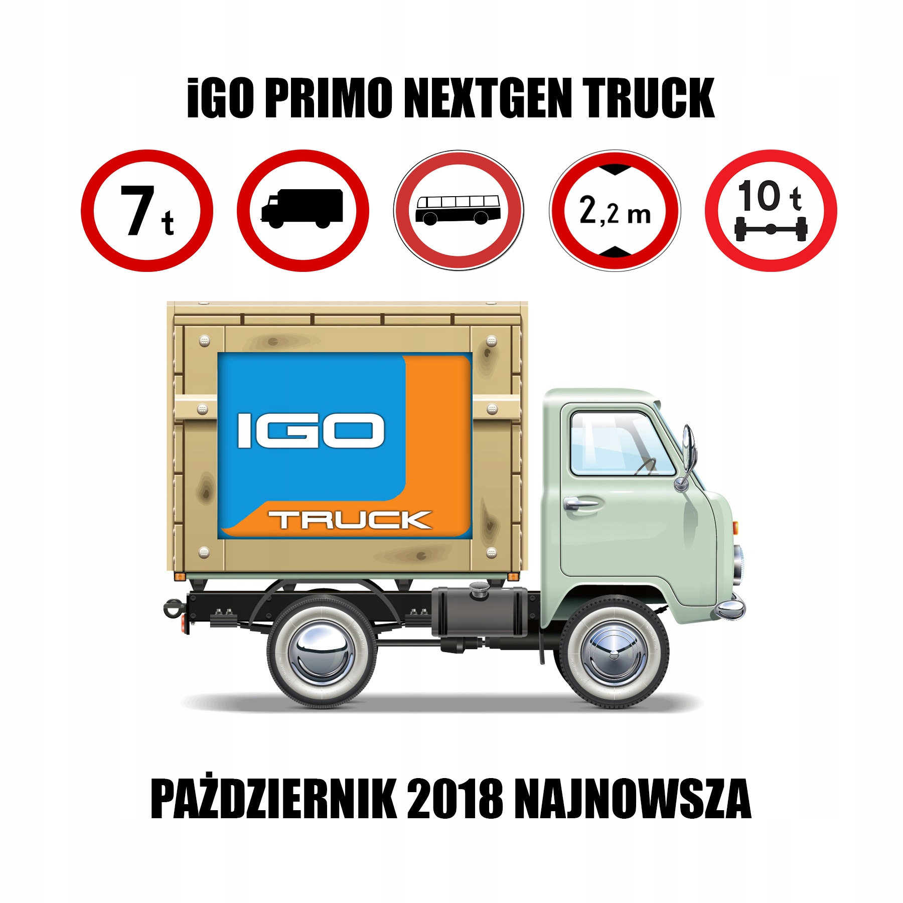 iGO PRIMO NEXTGEN TRUCK 10 2018 ANDROID/WINDOWS - 7649174934