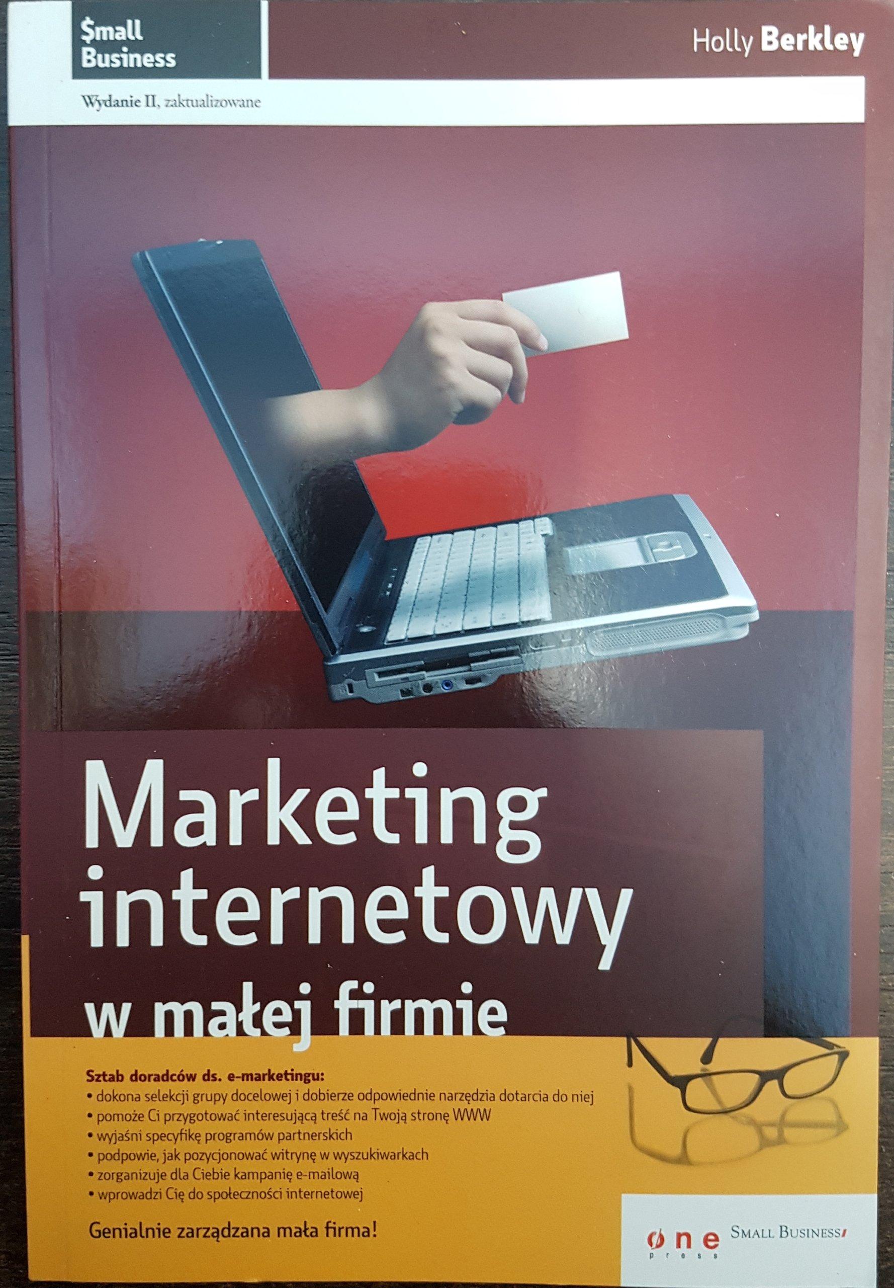 521a400cbe3425 MARKETING INTERNETOWY W MAŁEJ FIRMIE Berkley BDB - 6815612500 ...