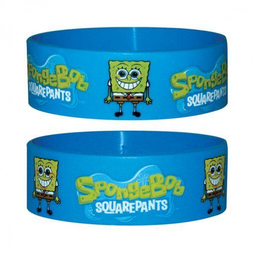 Spongebob Kanciastoporty - silikonowa opaska