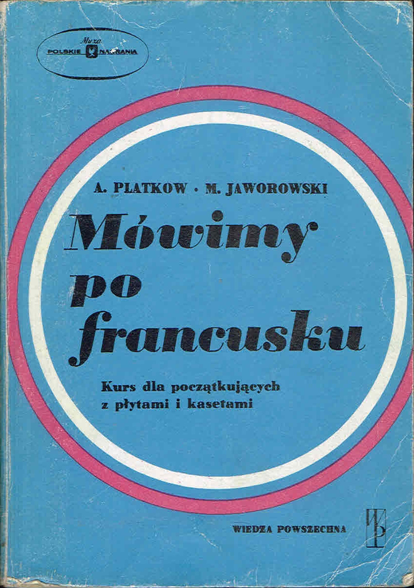 PLATKOW JAWOROWSKI - Mówimy po francusku [wyd. 1]