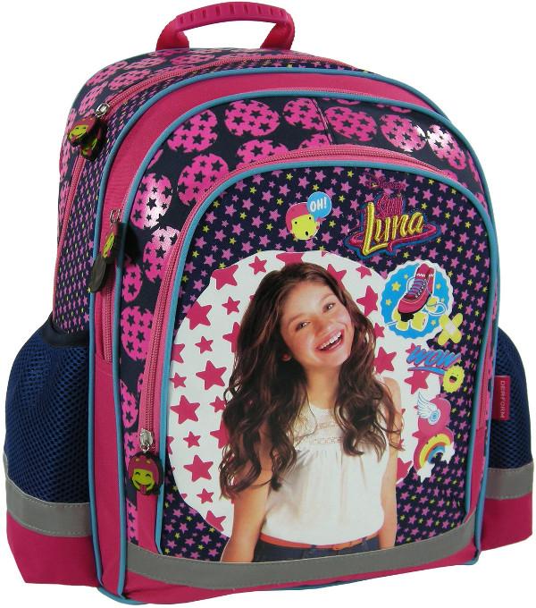 9b6602edc922d Plecak szkolny młodzieżowy Soy Luna usztywniany - 7211473359 ...