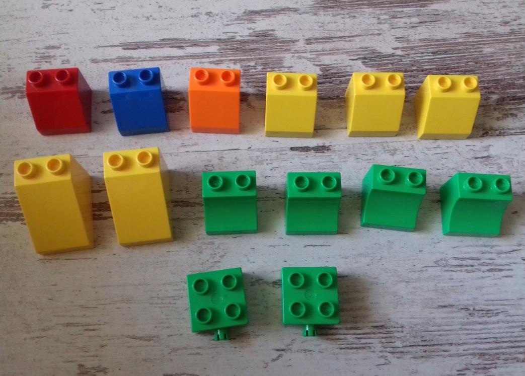 Klocki Lego Duplo Klocki Różne 14 Szt 7453717686 Oficjalne