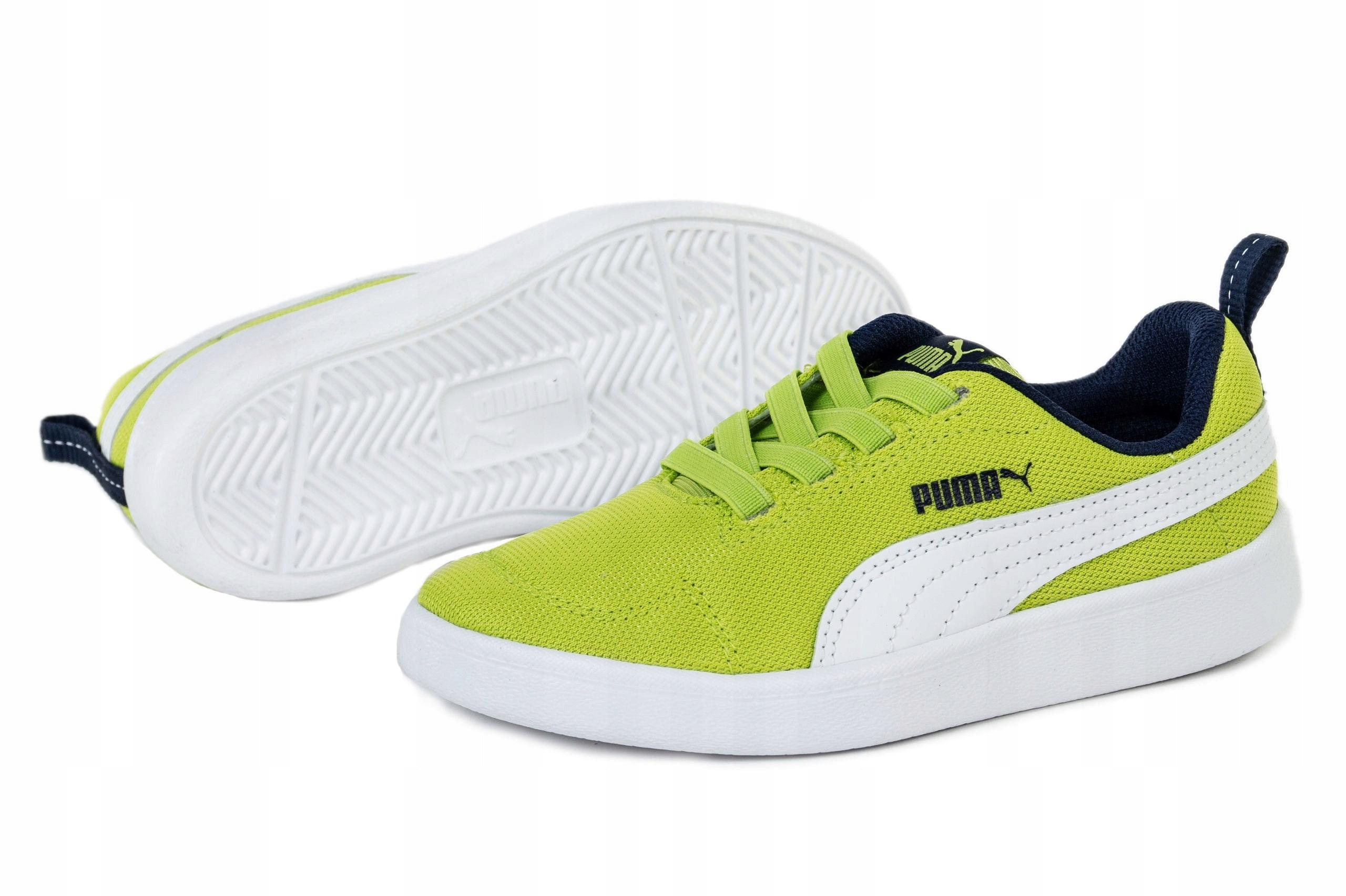 Kolorowe Tekstylne Buty Sportowe Puma rozmiar 35,5