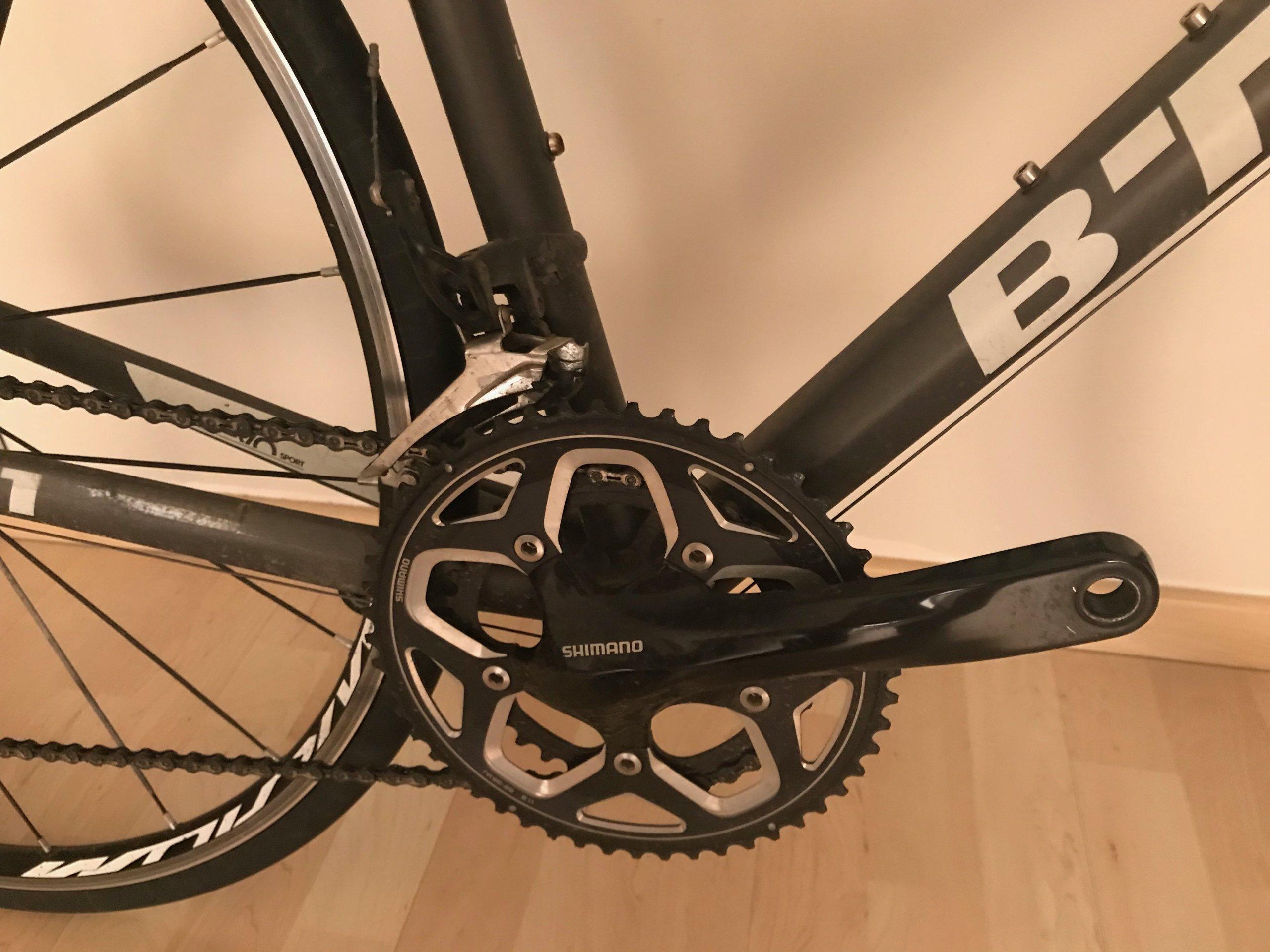Rower szosowy Decathlon TRIBAN 540 BLACK